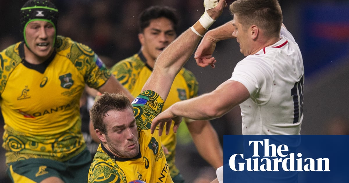 Owen Farrell changes tackle technique amid fear of red and yellow cards