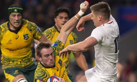 Owen Farrell's tackle on Isack Rodda last autumn attracted controversy.