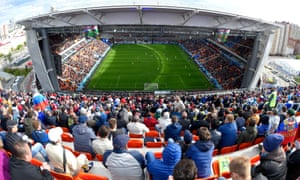 Fifa said the attendance at Uruguay's 1-0 win over Egypt was 27,015 in a stadium with a 33,061 capacity.