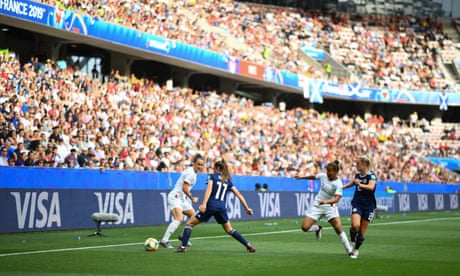 Pity the poor man who's had the Women's World Cup shoved down his throat