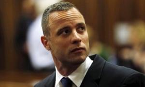 Pistorius在法庭上。