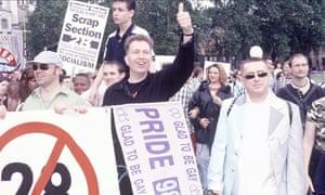 Graham Norton, Tom Robinson and Holly Johnson at Pride 1998