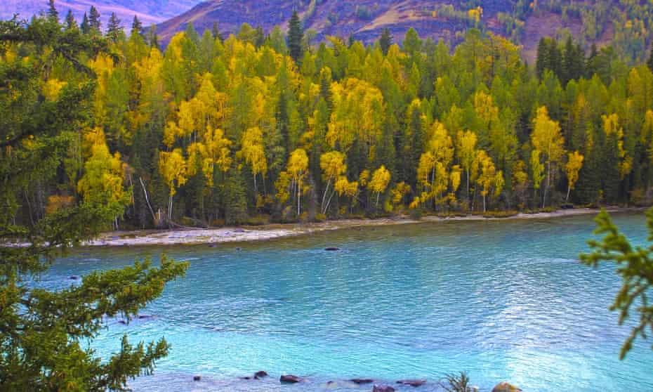 China's Lake Kanas is reminiscent of British Columbia.