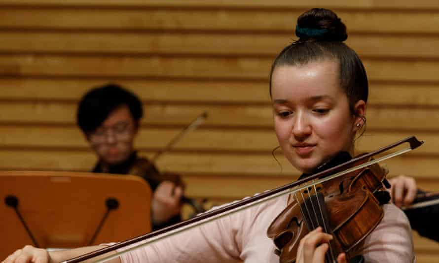 Natasha Petrovic, a carer for her parents, could not have attended the Menuhin school without financial support.