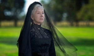 A hog-whimperingly silly performance … Helen Mirren as Sarah Winchester.