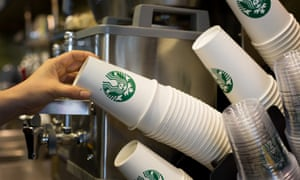 Starbucks will charge customers extra if they buy coffee in single-use cup.