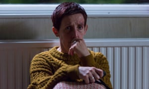 'The camera focuses on her, rather than the rest of her body …' Julie Hesmondhalgh as Trish Winterman in Broadchurch.