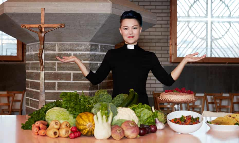 Rev Jennie Högberg, AKA the Vegan Priest