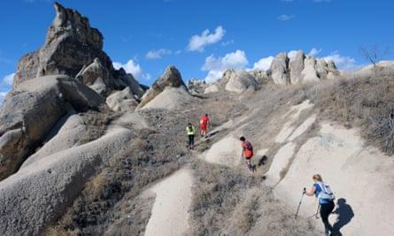 The North Face Cappadocia Ultra Trail race