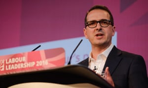 Owen Smith MP speaking at a Labour leadership debate