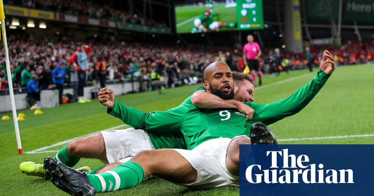 David McGoldrick earns Ireland vital point with header against Switzerland