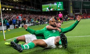 David McGoldrick earns Ireland vital point with header