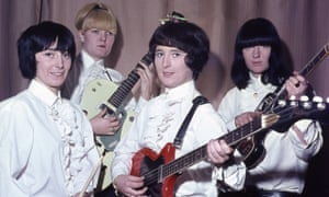 Valerie Gell, far right, with the Liverbirds in Hamburg, 1964. John Lennon told them that girls couldn't play guitars, and they set out to prove him wrong.