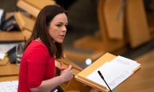 Kate Forbes, Scottish government's finance secretary