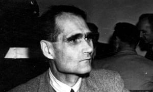 Rudolf Hess, pictured in 1946.