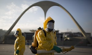The World Health Organization said the fact that the 2016 Games will take place during Brazil's winter lowers the risk of being bitten by mosquitoes.
