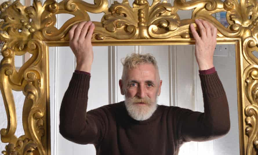 'I always wanted to do the distaff side' … John Byrne at home in Edinburgh in 2014.