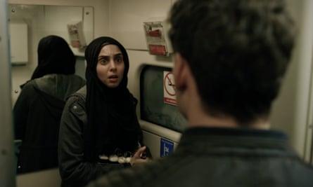 Terrorist mastermind ... Anjli Mohindra as Nadia in Bodyguard.