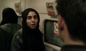 Anjli Mohindra in episode 1 of the BBC series Bodyguard.