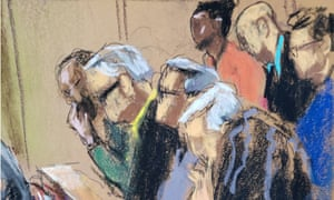 Courtroom sketch of the Weinstein jury