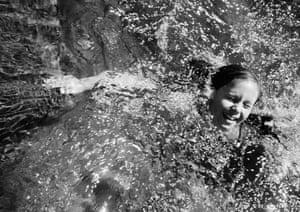 Girl Swimming. Yuba River, 2019