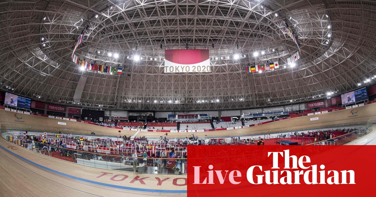 Tokyo Paralympics 2020 day two: swimming, cycling, wheelchair basketball and more – live!