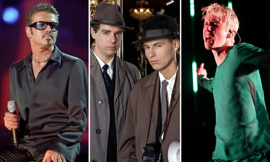 (L-R) George Michael, Pet Shop Boys, Troye Sivan