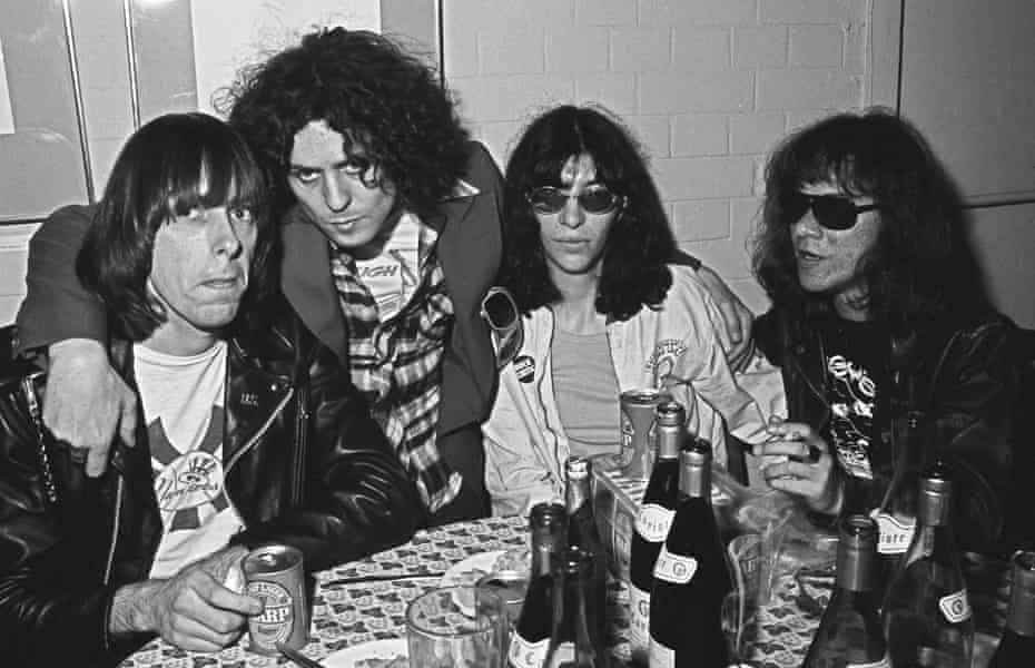 Marc Bolan and the Ramones in London in 1976 Shooting Stars', 30 years of the photography of Richard Young