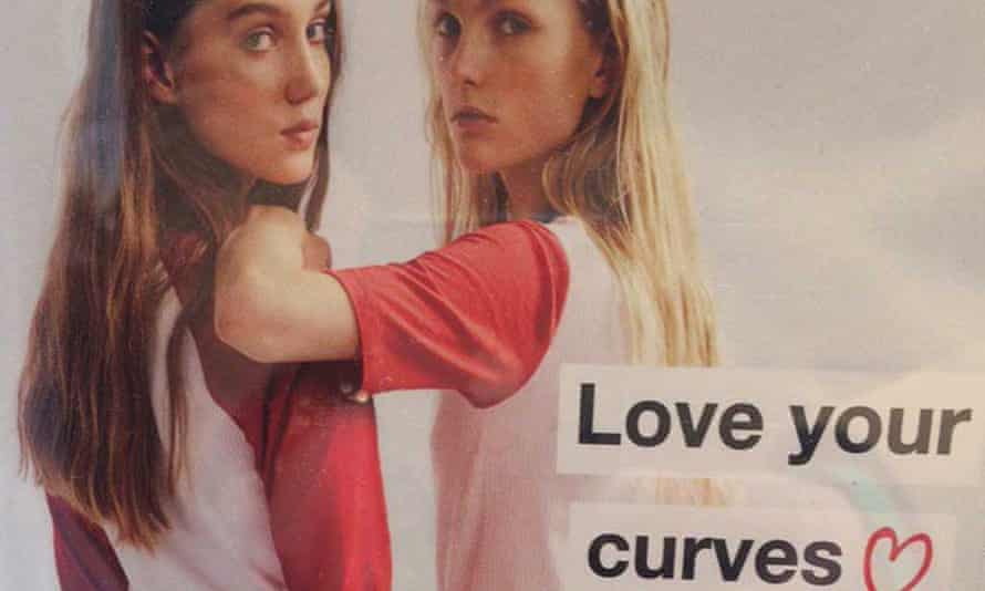 Zara's Love your curves advert.