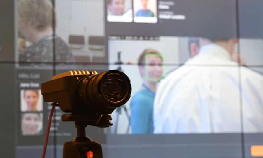 A camera being used during trials at Scotland Yard