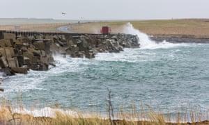 Churchill Barriers, Orkney, Scotland, United Kingdom