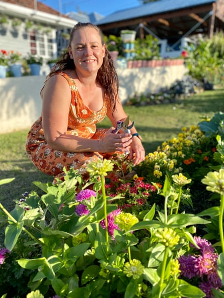 You can find Kate Nightingale in her verge garden most afternoons, deadheading the flowers and harvesting her abundant vegetable crop.