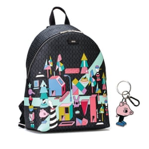Worlds collideClassic Boss design is adorned with playful Jeremyville artwork in a limited-edition accessories collection, featuring a cityscape and characters including the New York-based artist's iconic bunny, and, to celebrate Chinese New Year, a pig. Key ring, £69, hugoboss.com
