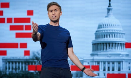 Russell Howard: 'Comedians are being reviewed like they're presidents and presidents are getting away with behaving like comedians.'