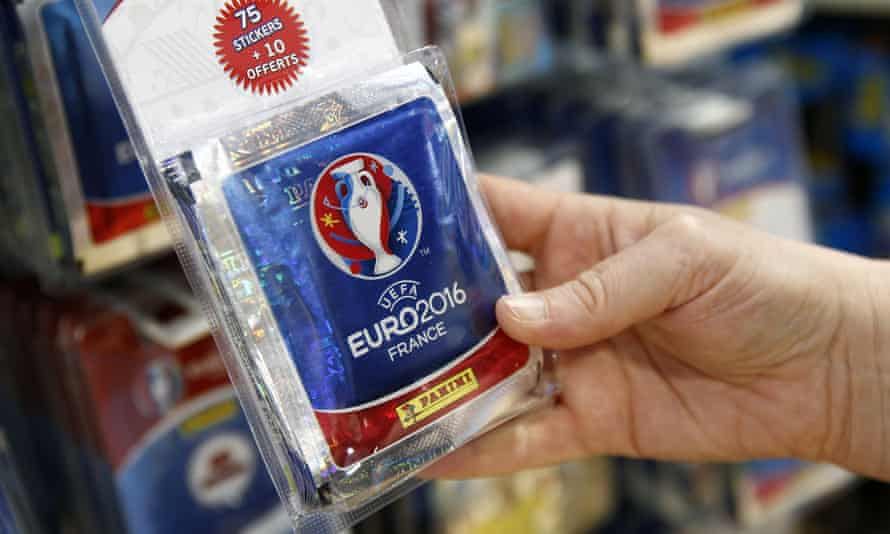 Euro 2016 Panini stickers for sale