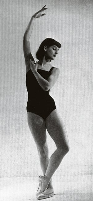 Jane Nicholas as a young dancer