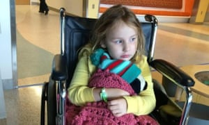 Bailey Sheehan, who regained the ability to walk, was 'one of the lucky kids', her mother says.