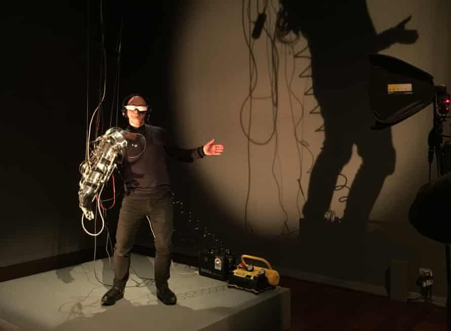 Re-Wired / Re-Mixed: Event for Dismembered Body, by the performance artist Stelarc at Radical Ecologies at Perth Institute of Contemporary Art in August.