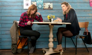 Diane Morgan and Anna Maxwell Martin in Motherland.