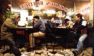 The Avalanches, circa 2001 … Dexter Fabay, James De La Cruz, Robbie Chater, Tony DiBlasi, Darren Seltmann