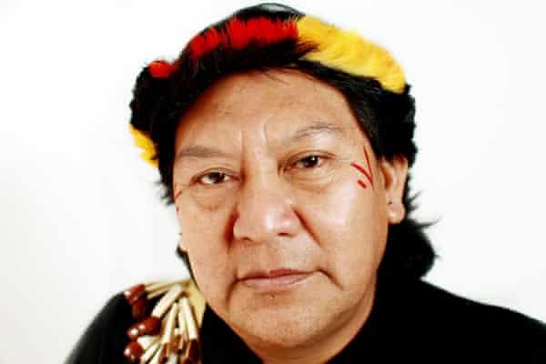 Davi Kopenawa Yanomami, indigenous leader and shaman.