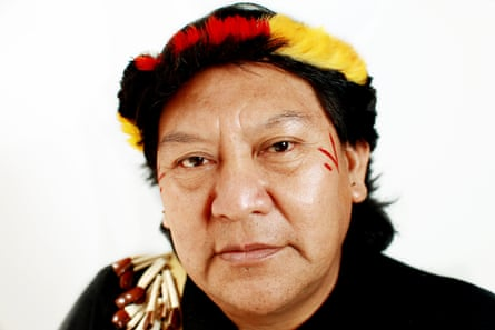 Davi Kopenawa Yanomami, indigenous leader and shaman.
