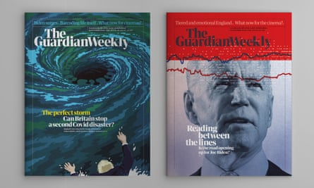 Guardian Weekly covers 16 October 2020