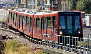 London's DLR is used by 300,000 people a day.