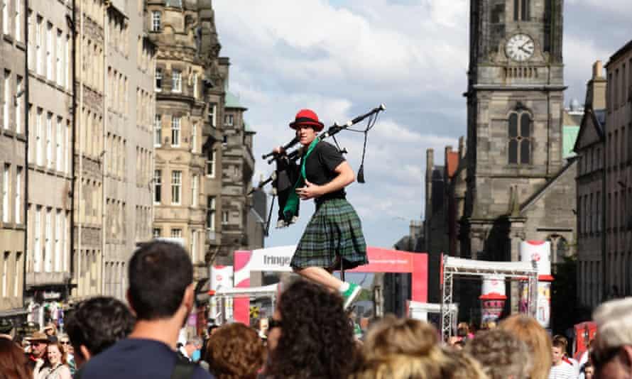 Edinburgh festival fringe in 2019.