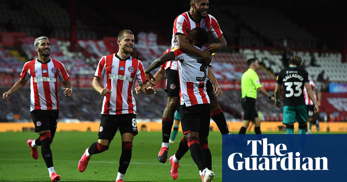 Brentford fight off Swansea to reach play-off final in Griffin Park swansong