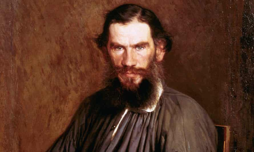 A Portrait of Leo Tolstoy, by I. Kramkoy (1837-1887) from the collection of the State Tretyakov Gallery, Moscow.