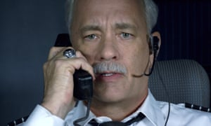 Tom Hanks in Sully, which portrays the nightmare of a plane going down with grim authenticity.