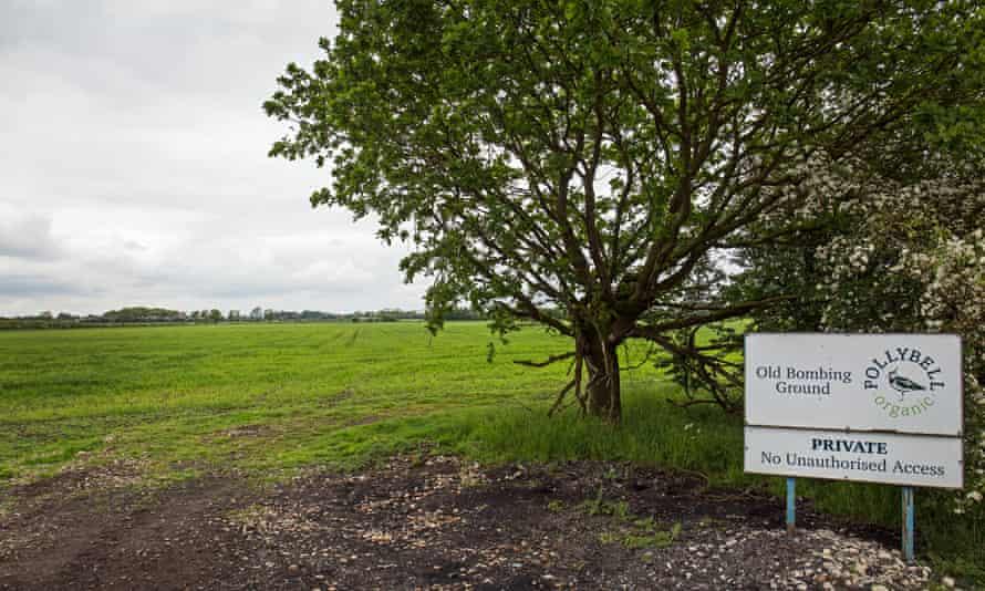 The bombing ground near Misson.