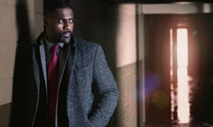 Idris Elba in scene from Luther